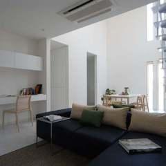 美しい規格住宅の目的によって場所を変えられる便利なリビング♪