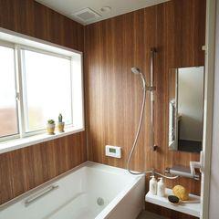 自分だけのリラックスタイムを楽しめる浴室