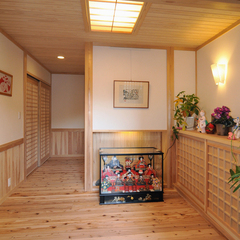 来客も落ち着く!木の香りが溢れる北欧風の玄関