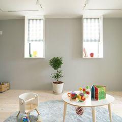 広々とした開放感のある子供部屋で過ごす日常♪