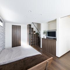 デザイン住宅の家族だけの空間を作れるオシャレな寝室