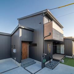 風が気持ちいいシンプルモダンのデザイン住宅