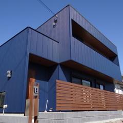 スタイリッシュなかっこいいデザイン住宅
