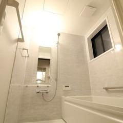 シンプルにかっこいいお風呂で爽快リラックス