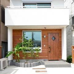 可愛くてオシャレなカントリー風の足立区のデザイン住宅