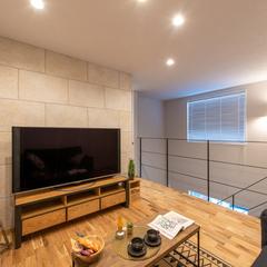 デザイン性あふれるテレビボード