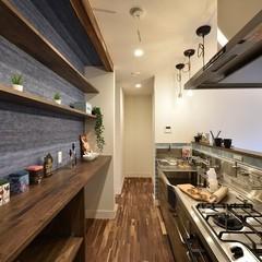 機能的で快適なキッチンスペース