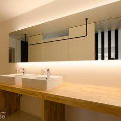 建築家住宅 R+houseのホテルライクな洗面&ユーティリティー