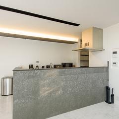 建築家住宅R+house 生活感を出さないおしゃれなキッチン