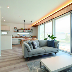君津市鎌滝のアジアンな外観の家で広々した廊下のあるお家は、クレバリーホーム FC本部(住宅館LABO)まで!