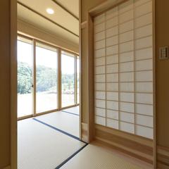 富士見市貝塚で和モダンな住宅を建てるなら埼玉県川越市の三幸住宅まで♪ 4-5