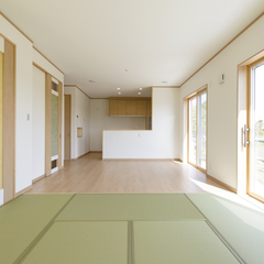 和風なリビングは埼玉県川越市の三幸住宅にお任せください!