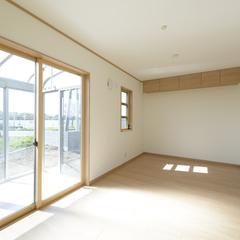 和風なランドリースペースは埼玉県川越市の三幸住宅にお任せください!