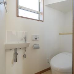 シンプルなトイレは埼玉県川越市の三幸住宅にお任せください!