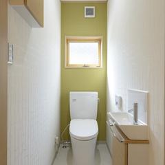 シンプルモダンなトイレは埼玉県川越市の三幸住宅まで!