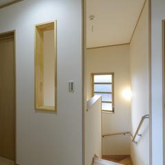 和風な階段は埼玉県川越市の三幸住宅まで!