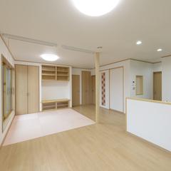 和モダンなLDKは埼玉県川越市の三幸住宅まで!