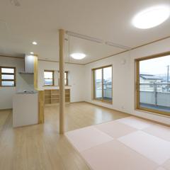 シンプルモダンなLDKは埼玉県川越市の三幸住宅まで!