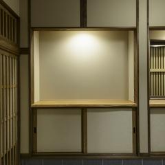 和モダンな玄関は埼玉県川越市の三幸住宅まで!