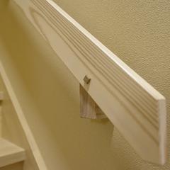 高品質木材を使用した和風な手摺り