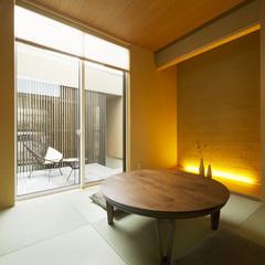 寒河江市の新築一戸建なら山形県山形市の設計士とつくるデザイナーズ住宅ハウスデザインまで♪ 和室、和モダン、庭
