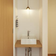 天童市の新築一戸建なら山形県山形市の設計士とつくるデザイナーズ住宅ハウスデザインまで♪1-2-8 造作・洗面化粧台