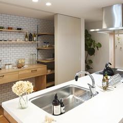 天童市の夢のマイホームなら山形県山形市の設計士とつくるデザイナーズ住宅ハウスデザインまで♪1-5-3 キッチン・収納・造作・カップボード
