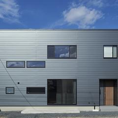 東根市の新築一戸建なら山形県山形市の設計士とつくるデザイナーズ住宅ハウスデザインまで♪1-6-5 外壁・ガルバリウム