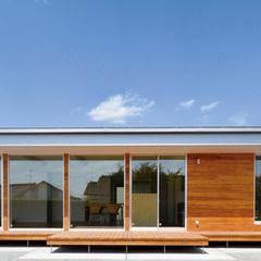 山形市の新築一戸建なら山形県山形市の設計士とつくるデザイナーズ住宅ハウスデザインまで♪1-8-1 平屋・外観・ガルバリウム