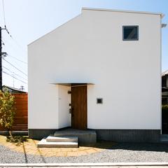 東根市の新築一戸建なら山形県山形市の設計士とつくるデザイナーズ住宅ハウスデザインまで♪ シンプル、木目、白い
