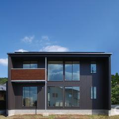 東根市の新築一戸建なら山形県山形市の設計士とつくるデザイナーズ住宅ハウスデザインまで♪ スタイリッシュ、モダン、バルコニー