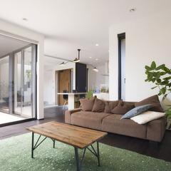 山形市の新築一戸建なら山形県山形市の設計士とつくるデザイナーズ住宅ハウスデザインまで♪ シンプル、リビング、ナチュラル