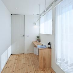 山形市の新築一戸建なら山形県山形市の設計士とつくるデザイナーズ住宅ハウスデザインまで♪ 物干し、ホール、サンルーム