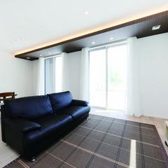 函館市絵紙山町のアメリカンな外観の家でワークスペースのあるお家は、クレバリーホーム函館店まで!