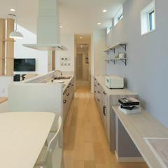 仙台市泉区実沢の鉄骨造の家でおしゃれなデザインクロスのあるお家は、クレバリーホーム 泉中央店まで!