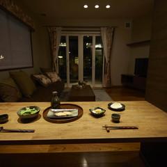 秋田市河辺岩見のアウトドアを楽しむ家で漆喰の外壁のあるお家は、クレバリーホーム 秋田店まで!