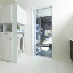 秋田市河辺三内のパネル工法 2×4(ツーバイフォー)の家でこだわったポストのあるお家は、クレバリーホーム 秋田店まで!