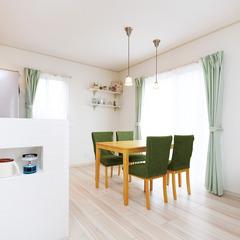 秋田市新屋田尻沢西町の高性能リフォーム住宅で暮らしづくりを♪