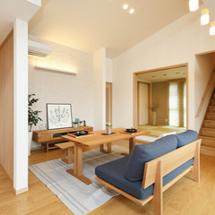東田川郡三川町角田二口のシンプルな家でランドリースペースのあるお家は、クレバリーホーム庄内店まで!