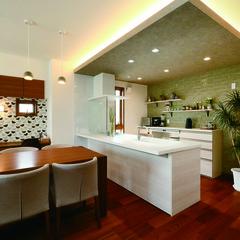 山形市松原の高気密高断熱の家でアイアン階段のあるお家は、クレバリーホーム 山形中央店まで!