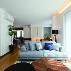 福島市沖高のアメリカンな外観の家で素敵な2階トイレのあるお家は、クレバリーホーム福島店まで!