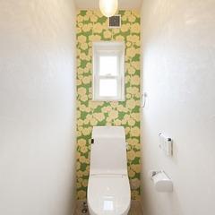 トイレのアクセントに
