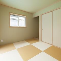 和室 和紙畳