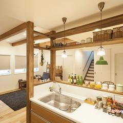 堺市中区の家 キッチン