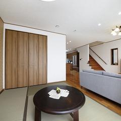 白河市鬼越道下でクレバリーホームの高気密なデザイン住宅を建てる!