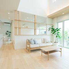 名古屋市守山区小幡の鉄骨造の家でおしゃれな手摺のあるお家は、クレバリーホーム 名古屋プラザ店まで!