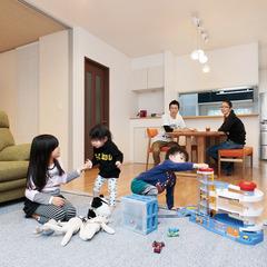 半田市乙川高良町で地震に強いたったひとつの高性能住宅を建てる。