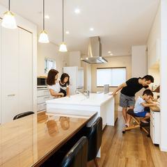 安城市東明町で家事が楽々なお家を建てるなら愛知県安城市篠目町のクレバリーホームへ♪安城店