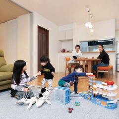 小牧市郷西町で地震に強いたったひとつの高性能住宅を建てる。