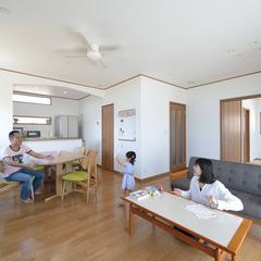 名古屋市緑区松が根台で地震に強い自由設計のデザイン住宅 を建てる。